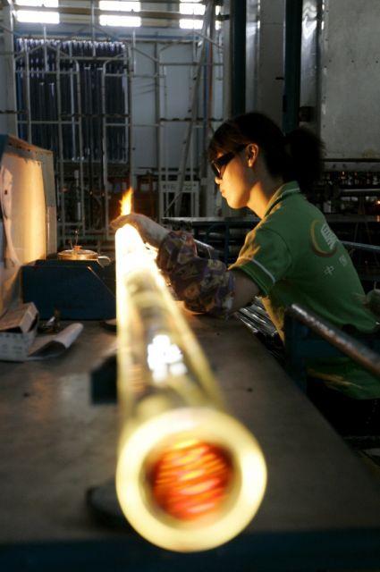 Solarkraft in China (keystone)