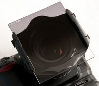 Cokin-Filter und Filterhalter: Graue Verläufe