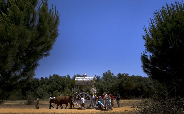 Pilger in Spanien (keystone)