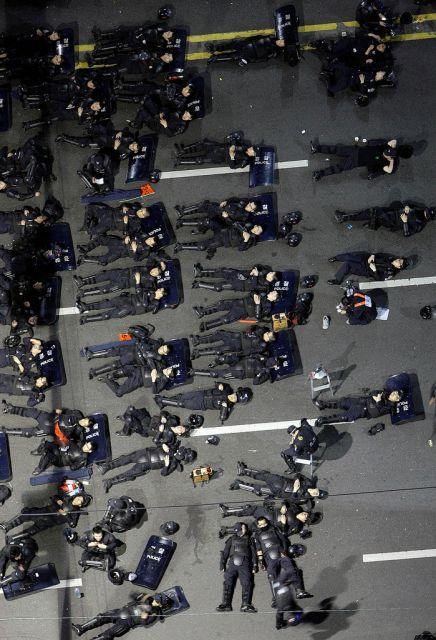 Südkoreanische Polizei (keystone)
