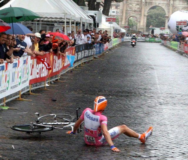 Denis Menchov Giro D'Italia (keystone)