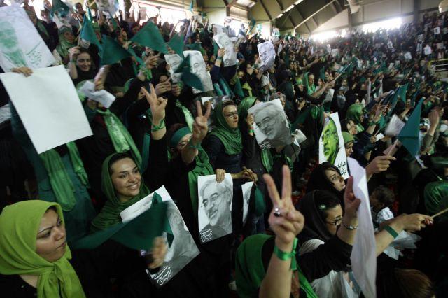 Hossein Mousavi-Unterstützer (keystone)