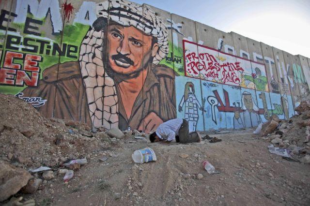 Israelische Mauer (keystone)