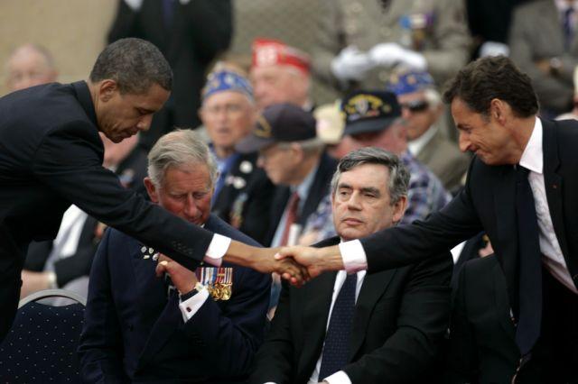 Barack Obama und Nicolas Sarkozy (keystone)