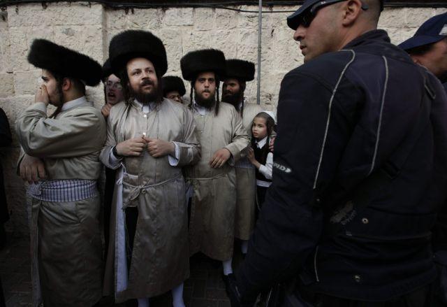 Orthodoxe Protester (keystone)