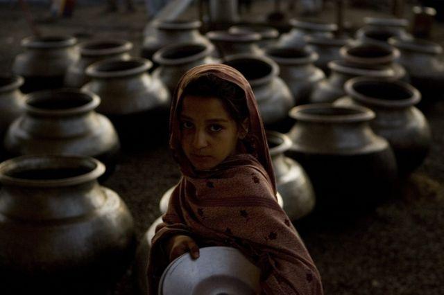 Pakistanische Flüchtlinge (keystone)