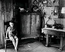 Walker Evans: West Virginia Living Room, 1935