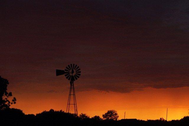Sonnenuntergang in Texas (keystone)