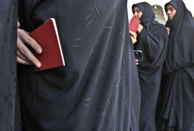 Iranische Wählerinnen (keystone)