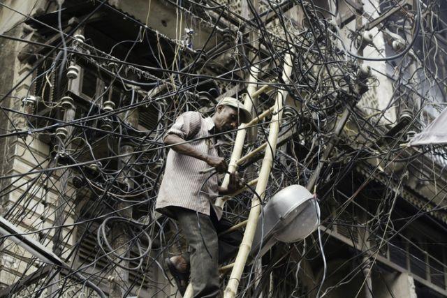 Stromversorgung Indien(keystone)