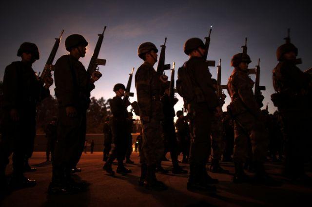 Militär in Mexiko (keystone)