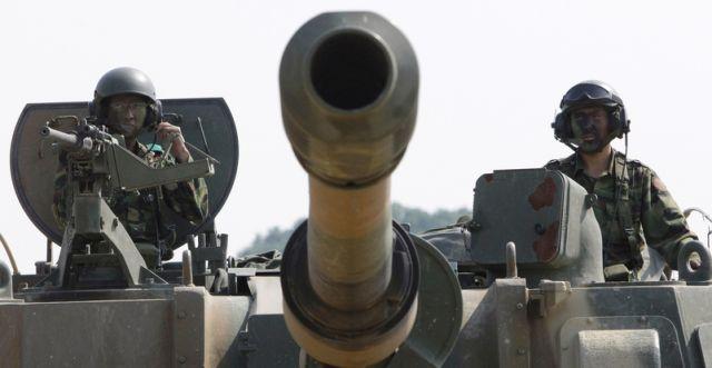Koreanischer Panzer (keystone)