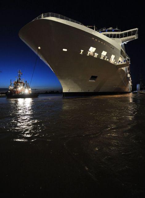 Kreuzfahrtschiff Equinox (keystone)