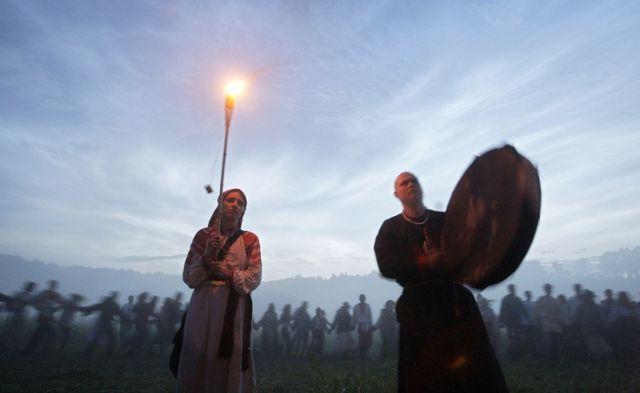 Neo-Pagans in Russland (keystone)
