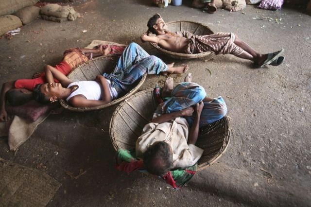 Bangladeshi Tagesarbeiter (keystone)