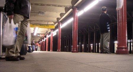 ...zum Stimmungsbild aus der New Yorker U-Bahn...
