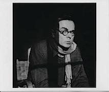 Kastel, vermutlich 1954/55, (Porträt Arno Schmidt / Foto von Alice Schmidt)); © Arno Schmidt Stiftung Bargfeld