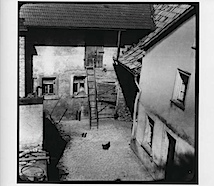 Gau-Bickelheim, 1950/51; © Arno Schmidt Stiftung Bargfeld