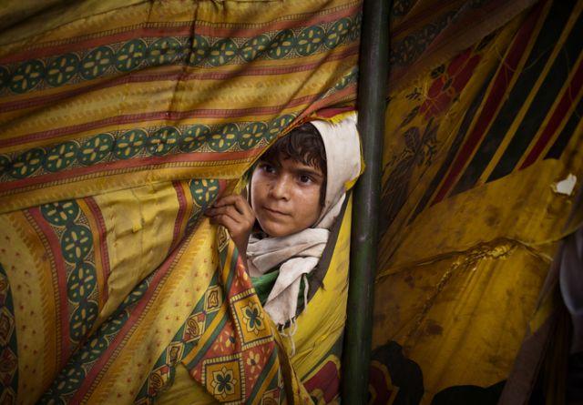 Ein pakistanisches Flüchtlingskind (keystone)
