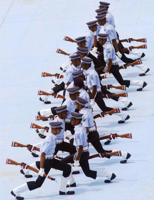 Das Air Warrior Drill Team (keystone)