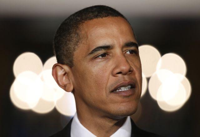Obama in der Wolke (keystone)
