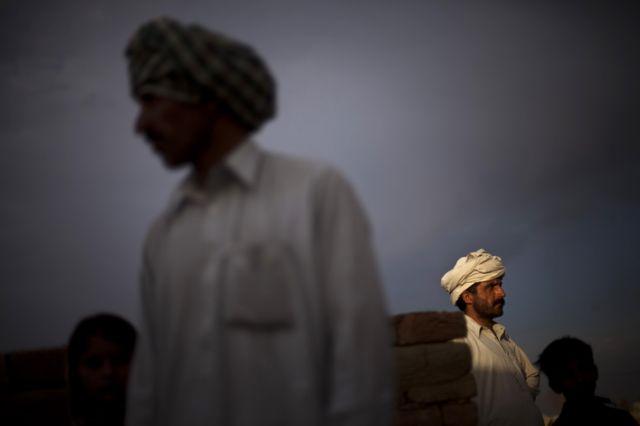 Flüchtlinge aus Buner in Pakistan (keystone)