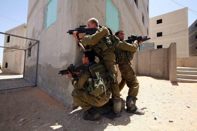 Israelische Truppenübung. (keystone)