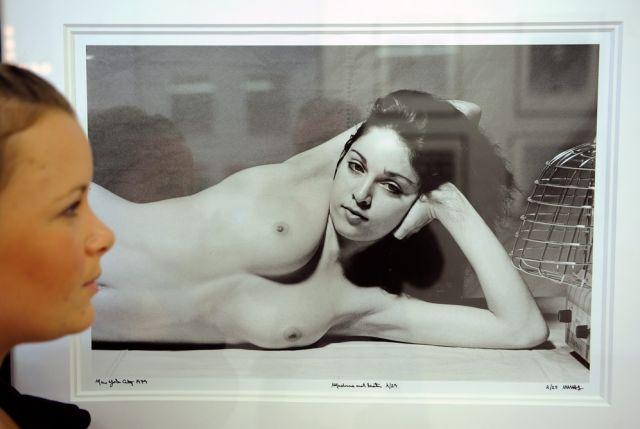 Madonna nackt: Kunstpromotion oder Ärgernis?
