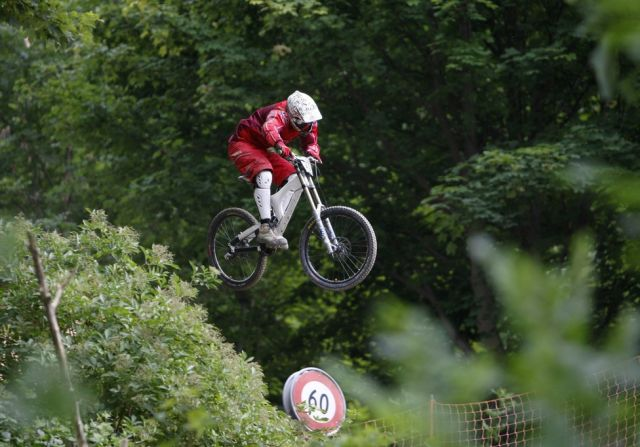 David Egli Downhill (keystone)