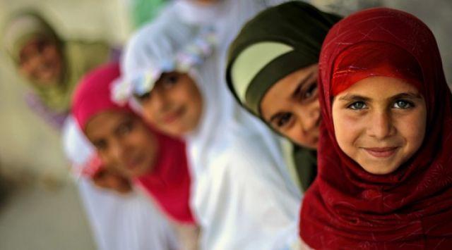 Palästinensische Mädchen (keystone)