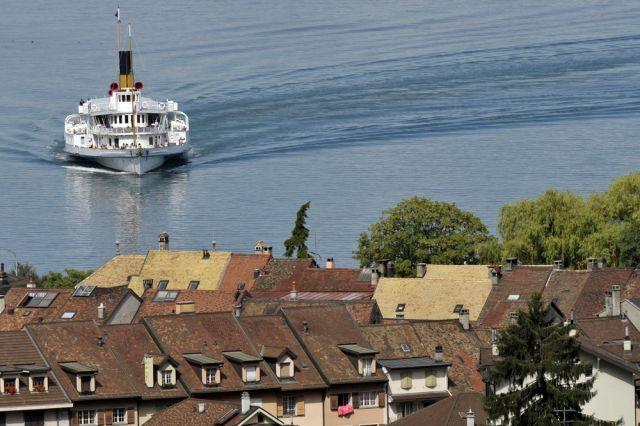 La Suisse dampft an. (keystone)