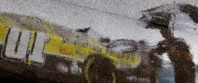 David Reutimanns Wagen Spiegelung (keystone)