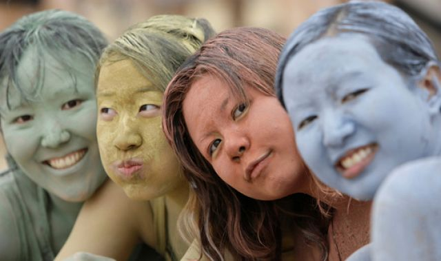 Schlammfestival Korea (keystone)