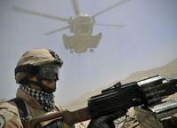 ungarischer Soldat in Afghanistan