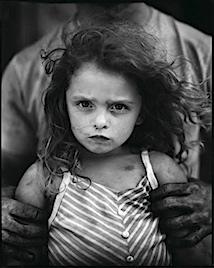 Sally Mann, Holding Virginia, 1989,
