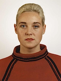 Thomas Ruff, Porträt (S. Weirauch), 1988