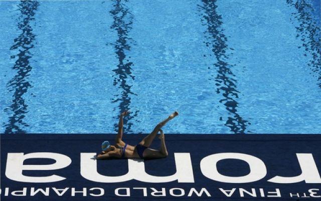 Synchronschwimmer (keystone)
