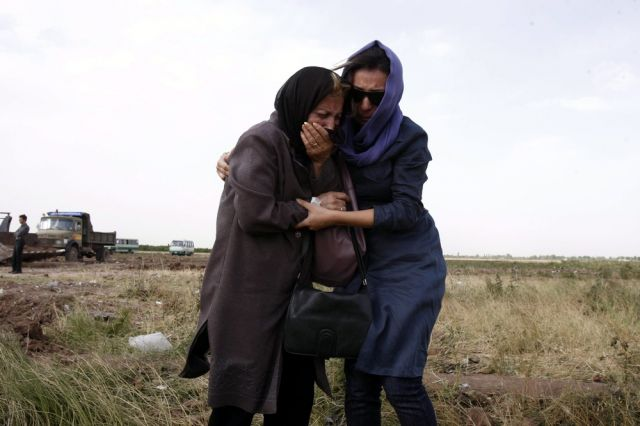 Absturz im Iran (keystone)