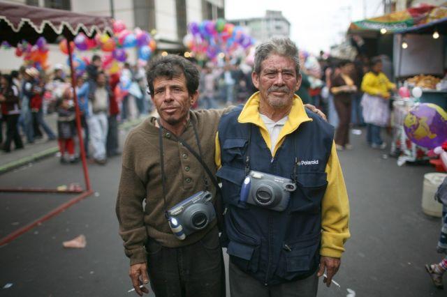 Strassenfotografen in Guatemala (keystone)