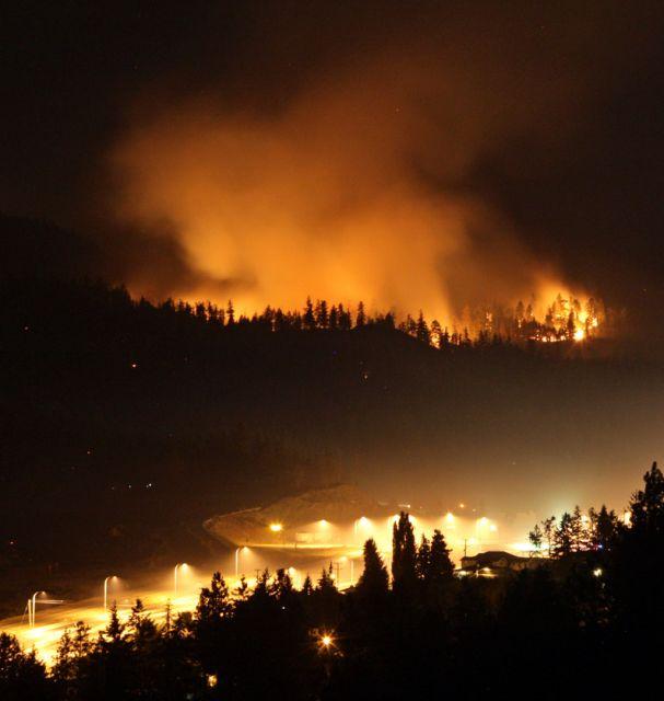Waldbrand in Kanada (keystone)