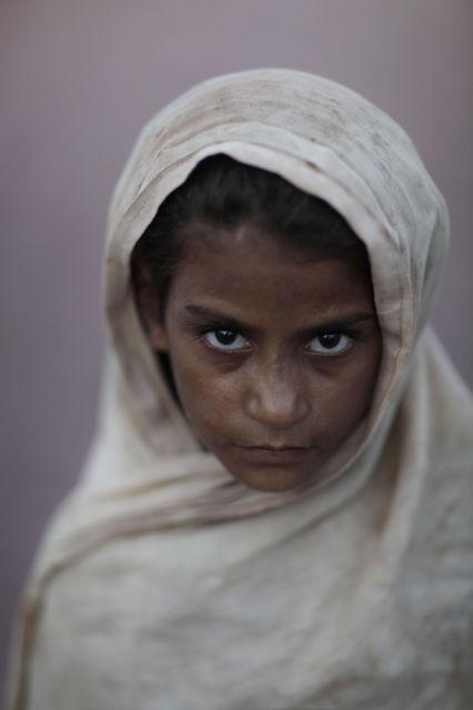 Pakistan, Flüchtlingsmädchen (keystone)
