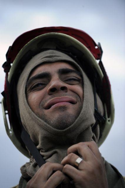Spanischer Feuerwehrmann (keystone)