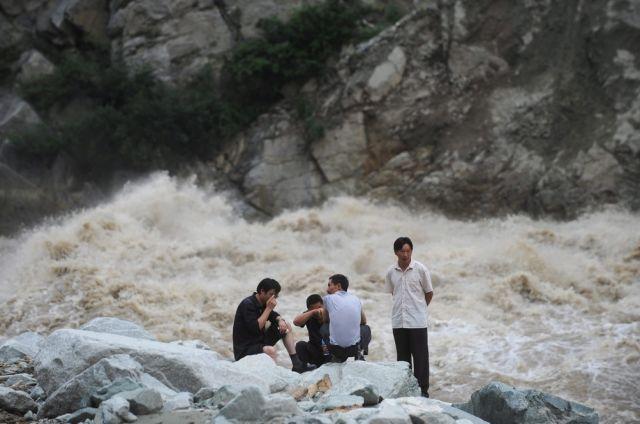 Erdrutsch in China (keystone)