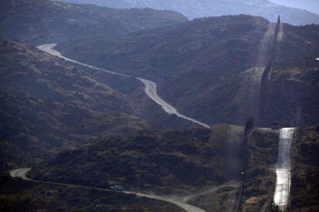 Grenzzaun zu Mexiko (keystone)