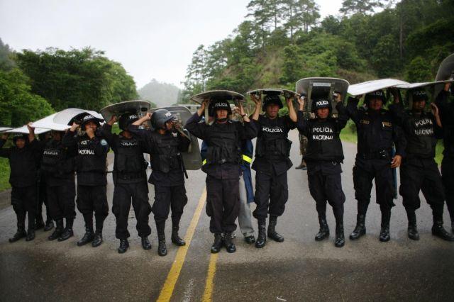 Honduras Polizei (keystone)