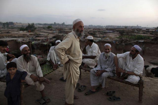 Afghanische Flüchtlinge (keystone)