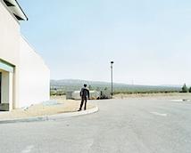 Markus Altmann: Barstow aus der Serie Mojave, High Desert Crossings