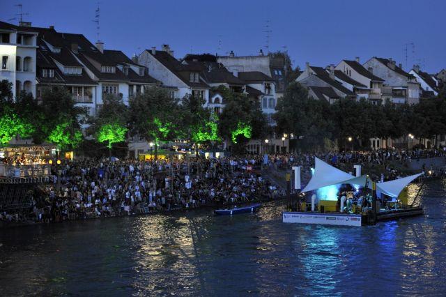 Konzert auf dem Rhein (keystone)