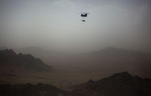 Chinook Helikopter in Afghanistan (keystone)