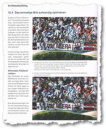 Sportfotografie: Zuschauer per Nachbearbeitung ausblenden - Tabu bei Agenturen.